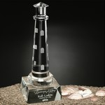 Spirit Rock Crystal Lighthouse 7 in.