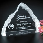 Matterhorn Optical Crystal Award 5 in.