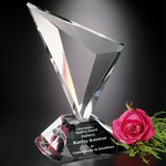 Genesis Optical Crystal Award 9 in.