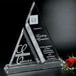 Aztec Optical Crystal Award 11-1/2 in.