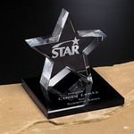 Tapered Star Award on Base 4 in.