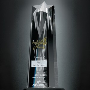 Polaris Star Tower Trophy 10 in.
