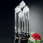 Diamond Tiara Optical Crystal Award 14 in.