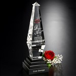 Epitome Optical Crystal Award  10-1/2 in.