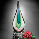Eminence Art Glass Award 13 in.