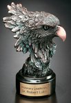 Bronze Eagle Head Award  5-1/2 in.