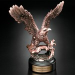 Perched Eagle Award 7-1/2 in.