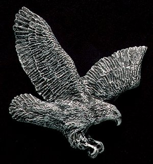 Flying Eagle Pewter Accent Addition to an Award