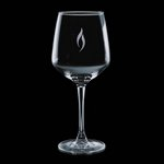 Aerowood 16oz Wine Glasses Engraved Glass