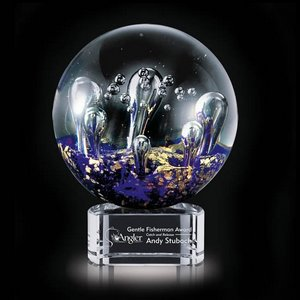 Serendipity Award on Clear Base - 4 3/4   in. Diam