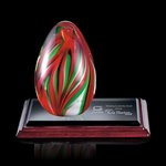 Bermuda Art Glass Award on Albion Base