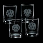 Aristocrat Double Old Fashion Glasses  (Set of 4)