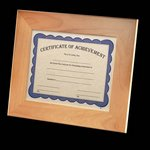 Millcroft Certificate Holder - Red Alder 8.5x11 in.