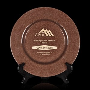 Granby Award Plate  - 11 in. Bronze