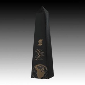 Black Marble Obelisk Award 16 in.