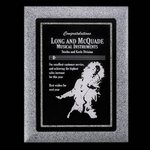Lonsdale Award Plaque - Gray 9 in.x12 in. Custom Plaques and Frames, employee award,recognition award,trophy award,corporate awards,crystal awards,recognition reward,crystal award,award plaque,recognition rewards