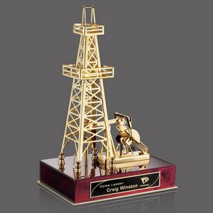 Aberfoyle Oil Rig - Rosewood/Gold 13 in.