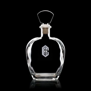 Belfast Decanter - 25oz Crystalline