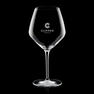 Brunswick Balloon Wine Glasses Engraved - 20oz Crystalline
