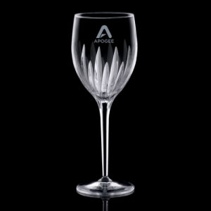 Orabella Wine Glasses Engraved - 9oz Crystalline