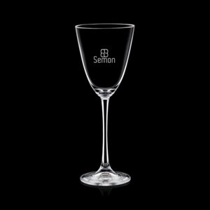 Evenson Wine Glasses Engraved - 12oz Crystalline