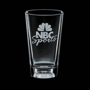 Sports Beverage Glass - 16oz Basketball