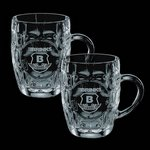 Britannia 20oz Beer Stein (Set of 2)
