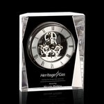 Rupert Clock - Optical Crystal 5 1/2