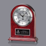 Judson Clock - Rosewood/Silver 7?