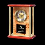 Richelieu Mantle Clock - Burlwood 7 in.