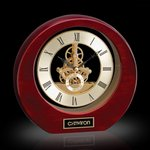 Catarina Clock - Rosewood 8in.