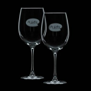 Connoisseur 19oz Wine Glasses Engraved (Set of 2)