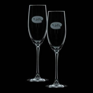 Connoisseur 8oz Flute (Set of 2)