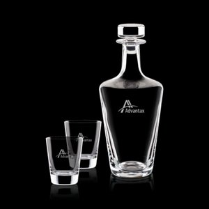 Frazier Decanter and 2 On-the-Rocks