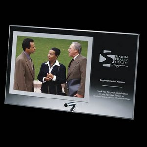 Delaware Photo Frame - Silver Horiz 4 in.x6 in.