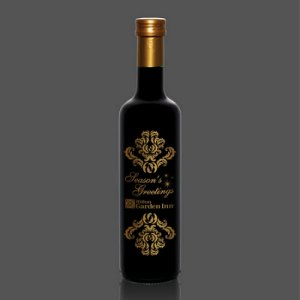 Mantova 500ml Balsamic Vinegar Engraved Bottles