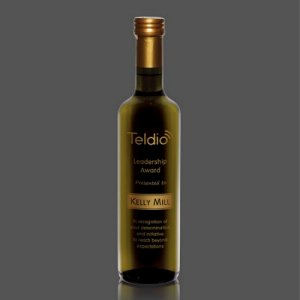 Mantova Balsamic Vinegar - White in Engraved Bottles