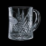 Milford 12oz Crystal Coffee Mug