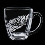 Aspen Coffee Mug - 16oz Clear