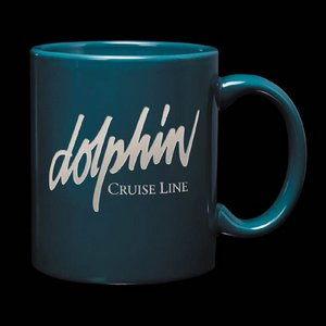Malibu Coffee Mug - 12oz Teal Green