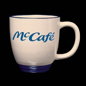 Kentucky Mug - 14oz Almond/Cobalt