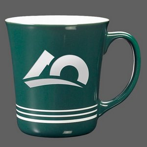 Churchill Coffee Mug - 16oz Green
