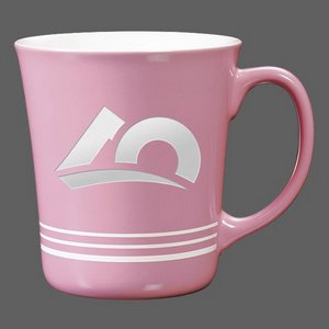 Churchill Coffee Mug - 16oz Pink