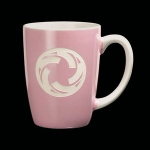Camelot Coffee Mug - 13oz Pink
