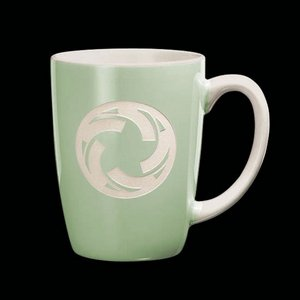 Camelot Coffee Mug - 13oz Mint Green