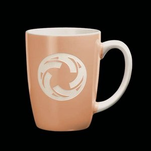 Camelot Coffee Mug - 13oz Peach