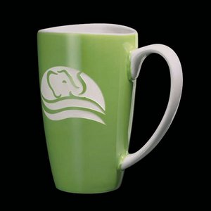 Paddington Mug - 17oz Lime Green