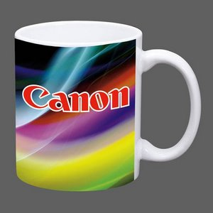 Sublimated Full Color Design Coffee Mug - 11oz White