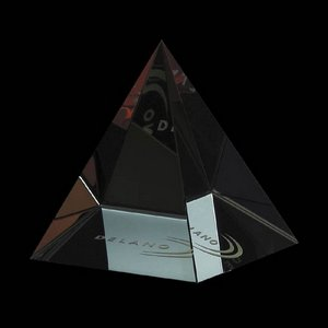 Colored Pyramid - Optical 3 in. Wide