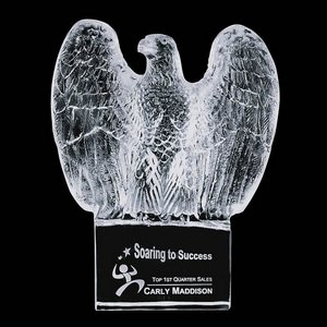 Pemberton Crystal Eagle Award - Optical 7 in.